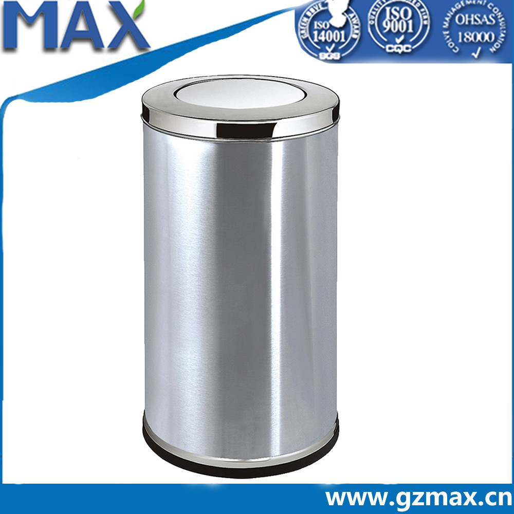 metal garbage trash container hospital dustbin