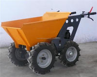 Hot Selling! High quality Honda engine small garden loader /mini dumper /muck truck with 250kg capacity CE&EPA