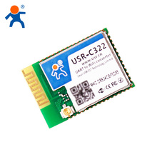USR-C322 IOT Wifi Module With TI CC3200 Solution UART to Wifi 802.11b g n Converter Support Usrlink Networking Configuration
