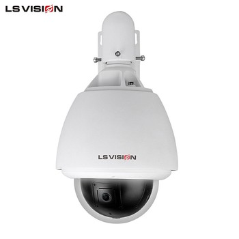 LS VISION h 360 degree panormic night vision high speed dome ip camera