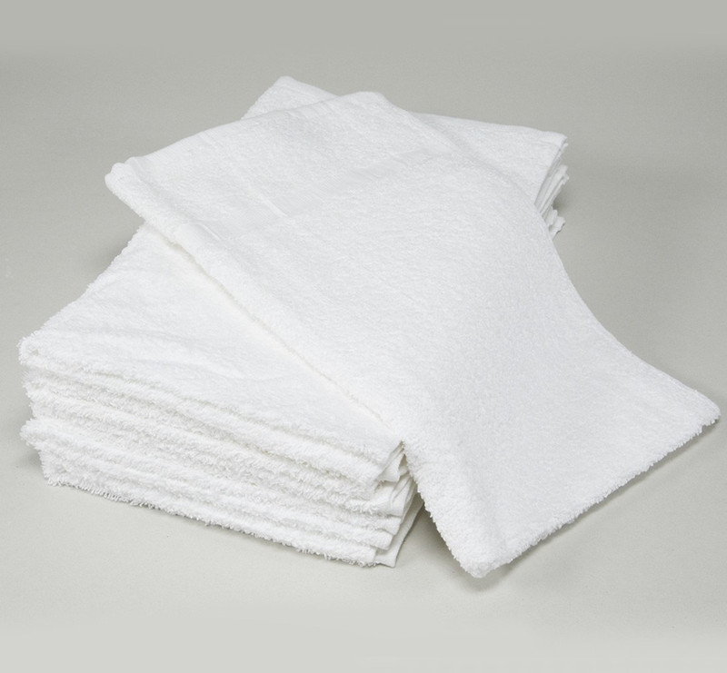 cheap wholesale 100% cotton 21s/2 plain white hand towel