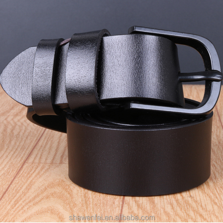 High quality fashion style with genuine leather belt for men belt