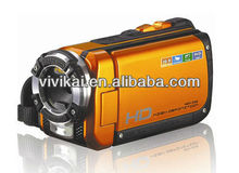 HDMI output 1080P 16MP 3.0'' TFT waterproof digital video camera