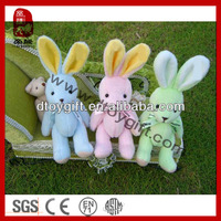 Soft cute birthday valentines wholesale gifts kid toy stuffed joint rabbit teddy bear small rabbit plush toys