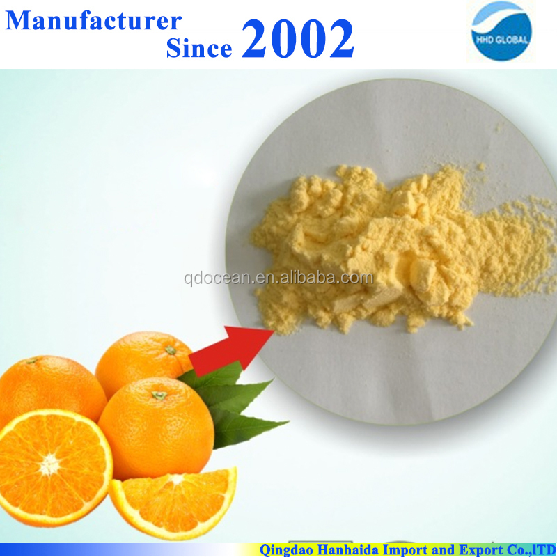 Factory supply high quality 100% pure Orange flavor concentrate fruit juice <strong>powder</strong> with reasonable price !!