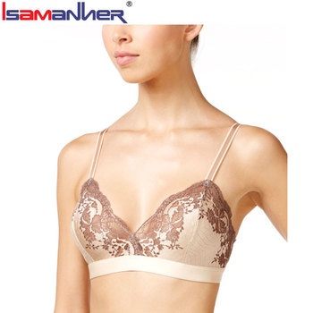 Custom OEM service best push up sexy lace brassiere women