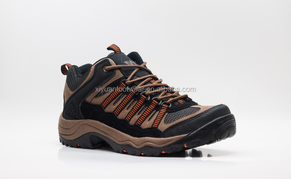 Custom Men Mountain Climbing Shoes Hiking Shoes With Rubber Sole
