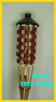 Bamboo torches for European countries for outdoor lighting and entertainment.
