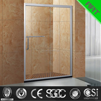 8 mm sliding glass sanitary shower
