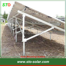 Ground Aluminum Solar PV Installation Mounting Brackets System