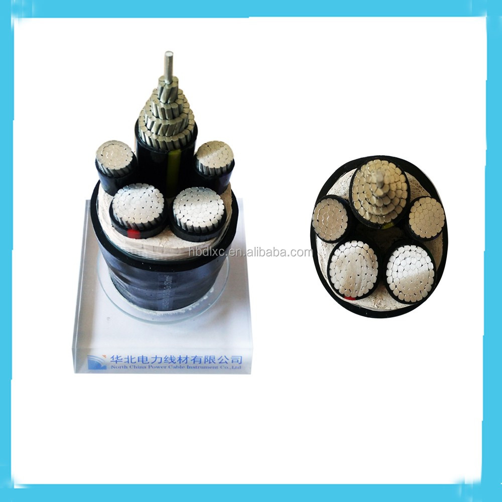 Copper/XLPE/PVC 0.6/1kV 5Core Low Voltage Power Cable