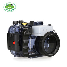 Shenzhen factory price 60M Waterproof case Seafrogs Underwater camera Waterproof Accessories for Sony A6000 A6300 A6500