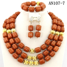 latest competitive african beads jewelry set