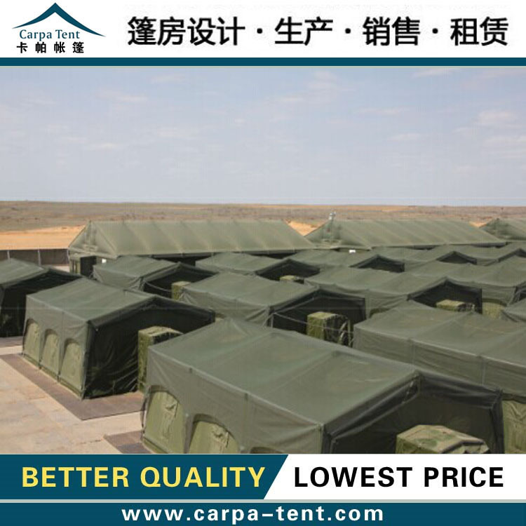 popular water proof shelter /military tent , 6*6m 8*8m militaryoutdoor tent for sale