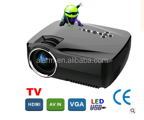 Fashion android mini projector GP70UP 3D