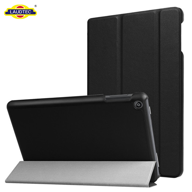 Premium Flip Leather Cover Sleeve For Kindle Fire HD8 2017 Leather Case