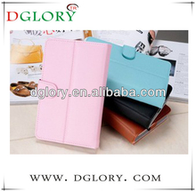 Various size leather case/leasther case with keyboard for tablet pc
