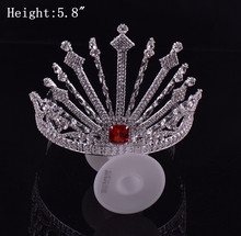 wholesale hair accessories decorative metal real crowns for sale