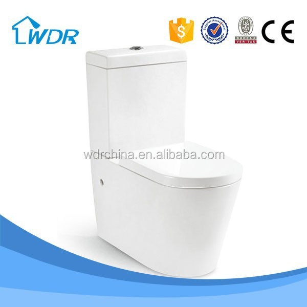 Bathroom two- piece p-trap quality hotel types of water closet