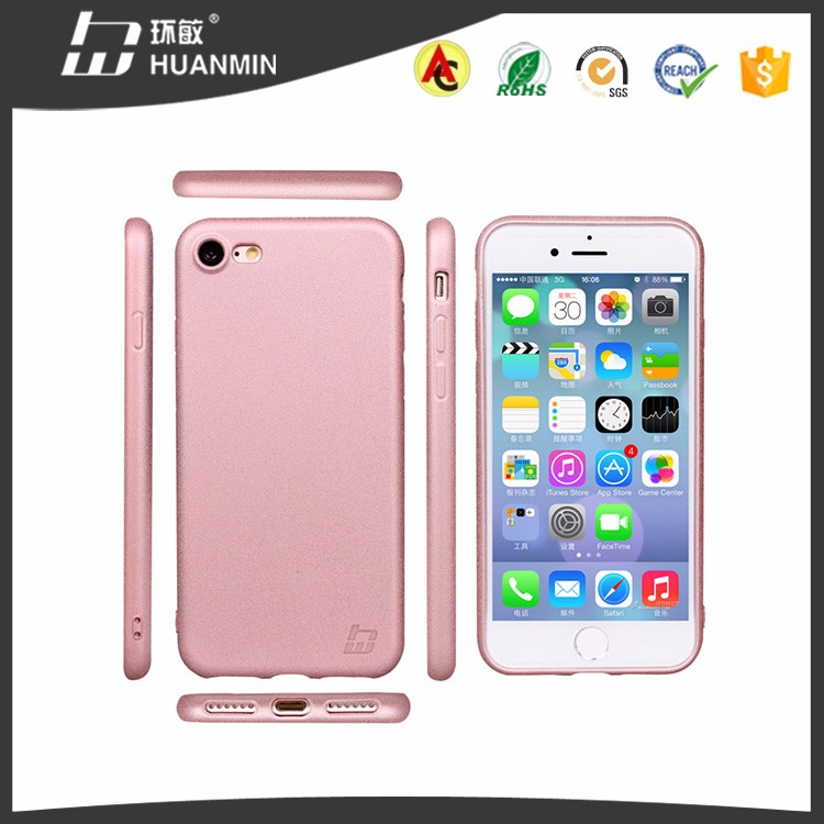 China Wholesale Mobile Phone Case For i7, Matte TPU Case For iPhone 7