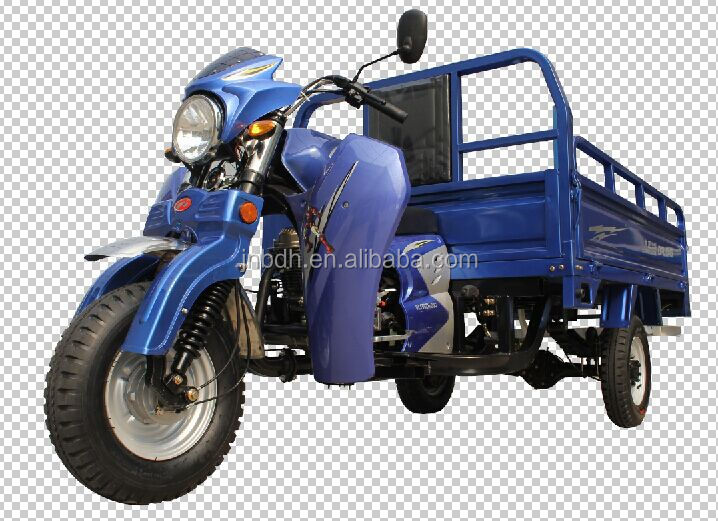 cargo gasoline tuktuk tricycle for Africa marke