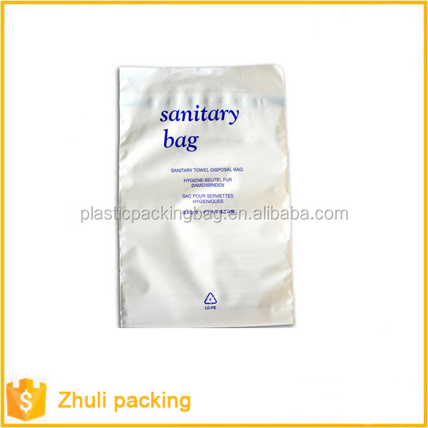 wholesale sanitary disposable napkin disposal bags
