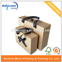 wholesale hot high quality custom design holiday gift box offer in china