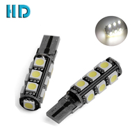 2016 new design canbus t10 led smd auto side light lens car backup