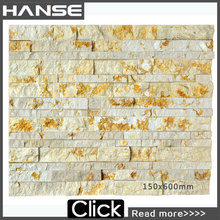 HS-DA04 decorative stone for tv wall tile stone/ interior wall stone decoration