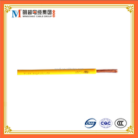 pvc insulation soft wire cable electric wire and cable 16mm