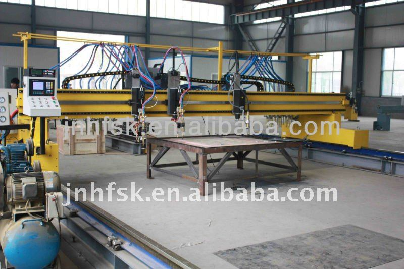 CNC plasma cantilever cutting machine supplier for hot sale
