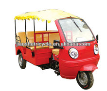 Most fashionable taxi passenger tricycles