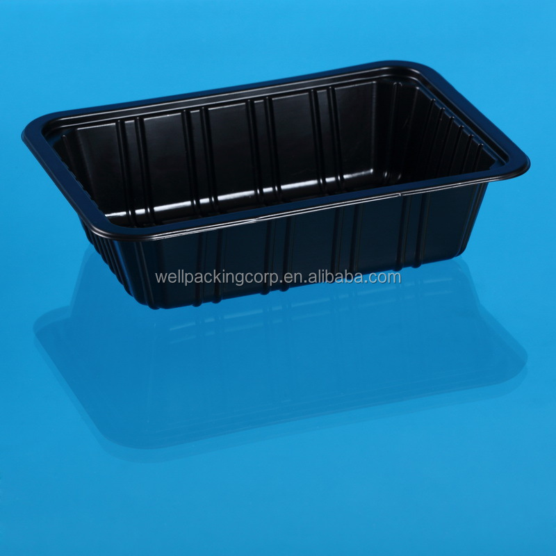 MAP Packing Disposable Plastic Meat/Sausage Packing Tray wholesale