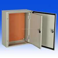IP65 Metal Enclosure double door Wall Mounting Gear boxes