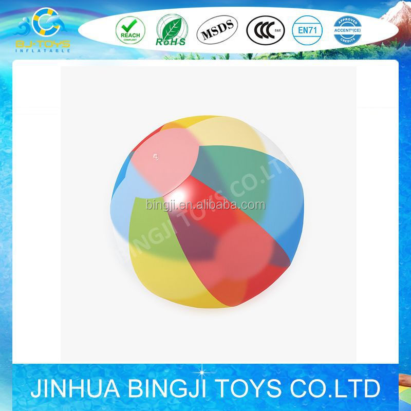 2015 Factory Sale Giant PVC Inflatable water t ball toys