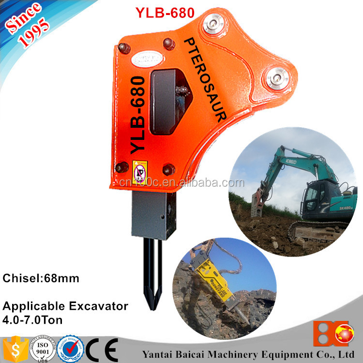 Custom Logo construction machinery hydraulic bead breaker