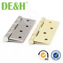 Cheap iron golden color furniture hinge for 750mm door