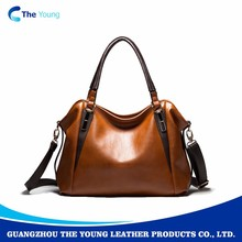 Latest girls personalized 100% leather handbags
