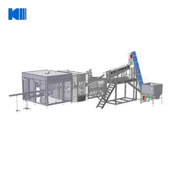 Rotary type blowing filling capping machine for drinking/mineral/pure water