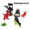 Educational plastic dinosaur toys mini dinosaur toys