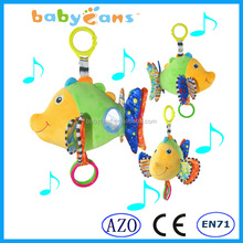 Babyfans stuffed animal baby toys musical pull lovely as lamaze baby toys