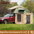 4WD Camping car roof top tent with awning wall room