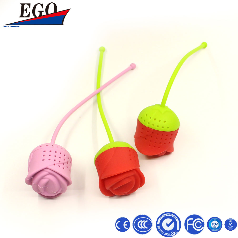 Cute Silicone Tea Infuser/Strainer/Bag/Filter