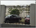 Alibaba factory supplying nodular cast iron fence ZX-ZTHL006