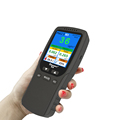 Portable Handheld Digital air quality Meter test PM2.5 PM1.0 PM10 HCHO TVOC Indoor Air Quality Detector