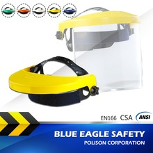 Blue Eagle Safety K series CSA Z94.3 Face Shield Browguard