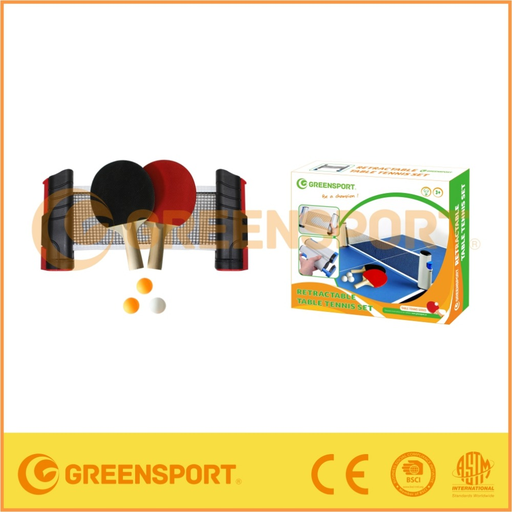 GSTTS3311 RETRACTABLE TABLE TENNIS SET WITH FRAME