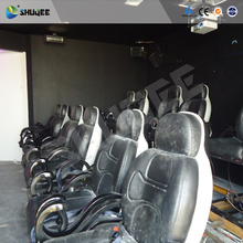 Factory price 4d motion cinema system 5d 7d theater 3 seats theater chair