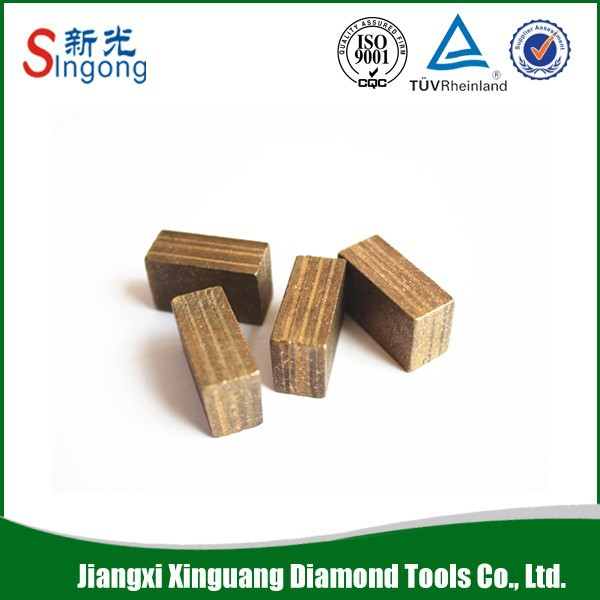 Marble Diamond Tips Block Stone Cutter Tips High Frequency Welding Granite Cutting Tips