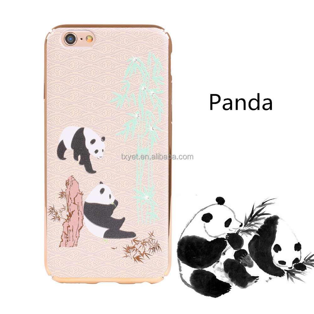 Custom printing hard PC plastic cell phone case back cover for iphone 7 7 Plus